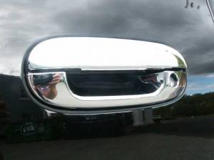 QAA - Chevrolet Trailblazer 2002-2009, 4-door, SUV (8 piece Chrome Plated ABS plastic Door Handle Cover Kit ) DH40245 QAA - Image 1