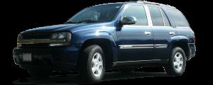 QAA - Chevrolet Trailblazer 2002-2009, 4-door, SUV (8 piece Chrome Plated ABS plastic Door Handle Cover Kit ) DH40245 QAA - Image 2