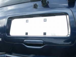 QAA - Chevrolet Trailblazer 2002-2009, 4-door, SUV (1 piece Stainless Steel License Plate Bezel ) LP42290 QAA - Image 1