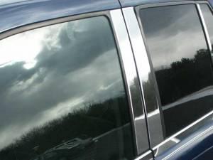 QAA - Chevrolet Trailblazer 2002-2009, 4-door, SUV (4 piece Stainless Steel Pillar Post Trim ) PP42293 QAA - Image 1