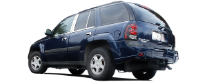 QAA - Chevrolet Trailblazer 2002-2009, 4-door, SUV, does NOT fit XL (6 piece Stainless Steel Pillar Post Trim ) PP42294 QAA - Image 3
