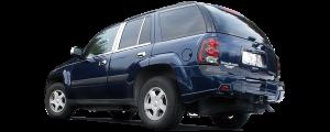 "QAA - Chevrolet Trailblazer 2006-2007, 4-door, SUV (4 piece Stainless Steel Insert Kit 2"" Width, w/ trim crease Side Molding.) TH47165 QAA - Image 3"