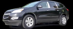 QAA - Chevrolet Traverse 2009-2017, 4-door, SUV (4 piece Stainless Steel Pillar Post Trim ) PP49165 QAA - Image 2