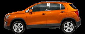 QAA - Chevrolet Trax 2015-2020, 4-door, SUV (6 piece Stainless Steel Pillar Post Trim ) PP55156 QAA - Image 2