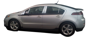 QAA - Chevrolet Volt 2011-2015, 4-door, Hatchback (8 piece Stainless Steel Pillar Post Trim ) PP53132 QAA - Image 2