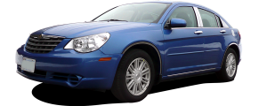 QAA - Chrysler 200 2011-2014, 4-door, Sedan (4 piece Stainless Steel Pillar Post Trim ) PP47780 QAA - Image 3