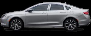 QAA - Chrysler 200 2015-2017, 4-door, Sedan (6 piece Stainless Steel Pillar Post Trim ) PP55781 QAA - Image 2