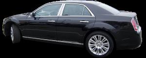 QAA - Chrysler 300 2005-2010, 4-door, Sedan (8 piece Chrome Plated ABS plastic Door Handle Cover Kit ) DH45760 QAA - Image 2