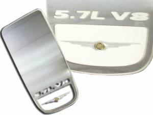 QAA - Chrysler 300 2005-2010, 4-door, Sedan (1 piece Stainless Steel Engine Trim ) EC45760 QAA - Image 1