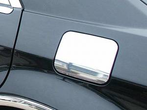 Chrome Trim - Fuel Door/Trim - QAA - Chrysler 300 2005-2010, 4-door, Sedan (1 piece Stainless Steel Gas Door Cover Trim Warning: This is NOT a replacement cap. You MUST have existing gas door to install this piece ) GC45760 QAA