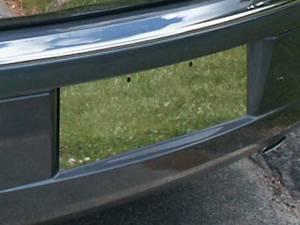 QAA - Chrysler 300 2005-2010, 4-door, Sedan (1 piece Stainless Steel License Plate Bezel ) LP45760 QAA - Image 1
