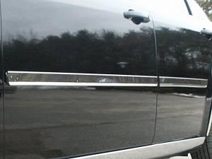 "QAA - Chrysler 300 2005-2010, 4-door, Sedan, Base Model ONLY (4 piece Stainless Steel Rocker Panel Trim, Insert Kit 1.438"" Width Side Molding.) TH45762 QAA - Image 1"