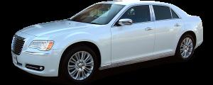 QAA - Chrysler 300 2011-2020, 4-door, Sedan (8 piece Chrome Plated ABS plastic Door Handle Cover Kit Includes smart key access ) DH51760 QAA - Image 3