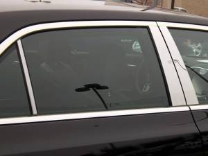 QAA - Chrysler 300 2011-2020, 4-door, Sedan (6 piece Stainless Steel Pillar Post Trim ) PP51761 QAA - Image 1