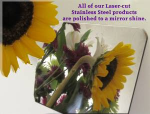 "QAA - Chrysler Concorde 1996-1997, 4-door, Sedan (8 piece Stainless Steel Rocker Panel Trim, Upper Kit 3.625"" Width Spans from the bottom of the molding DOWN to the specified width.) TH36740 QAA - Image 2"