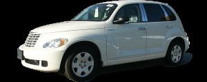 QAA - Chrysler PT Cruiser 2001-2002, 4-door, Hatchback (4 piece Stainless Steel Pillar Post Trim ) PP41700 QAA - Image 2