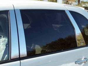 QAA - Chrysler PT Cruiser 2003-2010, 4-door, Hatchback (6 piece Stainless Steel Pillar Post Trim ) PP43701 QAA - Image 1
