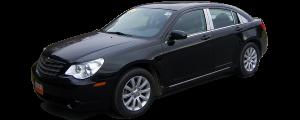 QAA - Chrysler Sebring 2001-2006, 4-door, Sedan (4 piece Stainless Steel Pillar Post Trim ) PP41780 QAA - Image 2