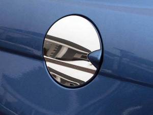 QAA - Chrysler Sebring 2007-2010, 4-door, Sedan (1 piece Stainless Steel Gas Door Cover Trim Warning: This is NOT a replacement cap. You MUST have existing gas door to install this piece Two crease contours) GC47780 QAA - Image 1