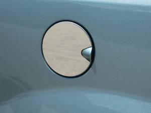 QAA - Chrysler Town & Country 2008-2016, 4-door, Minivan (1 piece Stainless Steel Gas Door Cover Trim Warning: This is NOT a replacement cap. You MUST have existing gas door to install this piece ) GC48895 QAA - Image 1