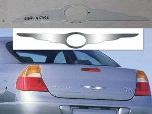 QAA - Chrysler Universal 2005-2010, 4-door, Sedan (1 piece Stainless Steel chrysler wings emblem With Cut Out for Logo ) SGR45766 QAA - Image 1