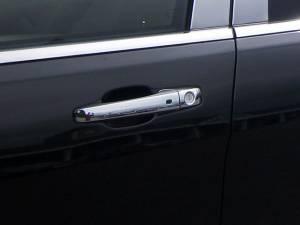 QAA - Dodge Avenger 2011-2014, 4-door, Sedan (8 piece Chrome Plated ABS plastic Door Handle Cover Kit Includes smart key access ) DH51081 QAA - Image 1