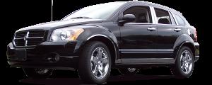 QAA - Dodge Caliber 2007-2012, 4-door, Hatchback (2 piece Chrome Plated ABS plastic Mirror Cover Set ) MC47950 QAA - Image 2