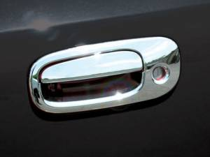 QAA - Dodge Charger 2006-2010, 4-door, Sedan (8 piece Chrome Plated ABS plastic Door Handle Cover Kit ) DH46910 QAA - Image 1