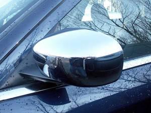 QAA - Dodge Charger 2006-2010, 4-door, Sedan (2 piece Chrome Plated ABS plastic Mirror Cover Set For painted mirror ) MC45760 QAA - Image 1