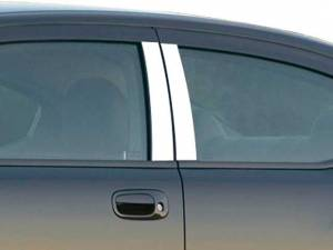 QAA - Dodge Charger 2006-2010, 4-door, Sedan (4 piece Stainless Steel Pillar Post Trim ) PP46910 QAA - Image 1