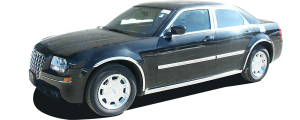 QAA - Chrysler 300 2005-2005, 4-door, Sedan (5 piece Stainless Steel Front Grille Accent Trim ) SG45760 QAA - Image 3