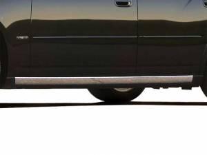 """QAA - Dodge Charger 2006-2010, 4-door, Sedan (4 piece Stainless Steel Rocker Panel Trim, On the rocker 3.563"""" Width Installs below the door.) TH46910 QAA - Image 1"""