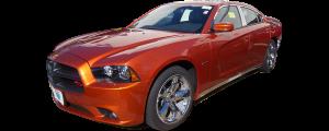 QAA - Dodge Charger 2011-2020, 4-door, Sedan (4 piece Chrome Plated ABS plastic Door Handle Cover Kit Includes smart key access ) DH51910 QAA - Image 2