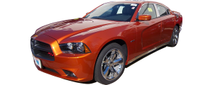 QAA - Dodge Charger 2011-2020, 4-door, Sedan (10 piece Stainless Steel Window Trim Package Includes Upper Trim and Pillar Posts, NO Window Sills ) WP51911 QAA - Image 2
