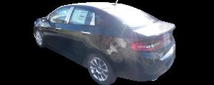 QAA - Dodge Dart 2013-2016, 4-door, Sedan (6 piece Stainless Steel Pillar Post Trim ) PP53906 QAA - Image 2