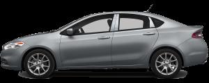 QAA - Dodge Dart 2013-2016, 4-door, Sedan (6 piece Stainless Steel Pillar Post Trim ) PP53906 QAA - Image 3