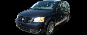 QAA - Dodge Grand Caravan 2008-2020, 4-door, Minivan (2 piece Chrome Plated ABS plastic Mirror Cover Set ) MC48895 QAA - Image 2