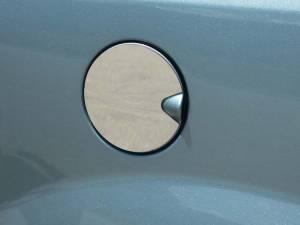 QAA - Dodge Grand Caravan 2008-2020, 4-door, Minivan (1 piece Stainless Steel Gas Door Cover Trim Warning: This is NOT a replacement cap. You MUST have existing gas door to install this piece ) GC48895 QAA - Image 1