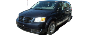 QAA - Dodge Grand Caravan 2008-2020, 4-door, Minivan (1 piece Stainless Steel License Plate Bezel ) LP48895 QAA - Image 2