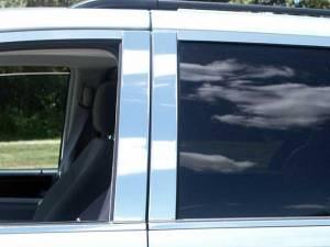 QAA - Dodge Grand Caravan 2008-2020, 4-door, Minivan (4 piece Stainless Steel Pillar Post Trim ) PP48895 QAA - Image 1