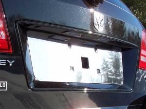 QAA - Dodge Journey 2009-2020, 4-door, SUV (1 piece Stainless Steel License Plate Bezel ) LP49945 QAA - Image 1