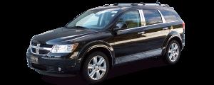 "QAA - Dodge Journey 2009-2020, 4-door, SUV (4 piece Stainless Steel Body Molding Insert Trim Kit 1.75"" Width ) MI49945 QAA - Image 4"