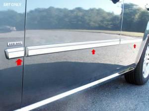 "QAA - Dodge Magnum 2005-2008, 4-door, Wagon (6 piece Stainless Steel Rocker Panel Trim, Insert Kit 1"" Width Side Molding.) TH45922 QAA - Image 1"
