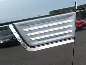 QAA - Dodge Nitro 2007-2009, 4-door, SUV (2 piece Stainless Steel Porthole Accent Trim ) PB47940 QAA - Image 1