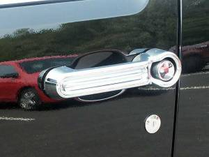 QAA - Dodge Nitro 2007-2011, 4-door, SUV (8 piece Chrome Plated ABS plastic Door Handle Cover Kit ) DH47940 QAA - Image 1