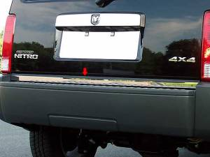 "Chrome Trim - Trunk Lid Accents - QAA - Dodge Nitro 2007-2011, 4-door, SUV (1 piece Stainless Steel Rear Deck Trim, Trunk Lid Accent 1.25"" Width ) RD47940 QAA"