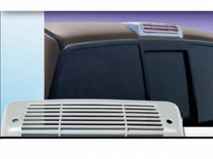 Chrome Trim - Brake Light Accents - QAA - Ford F-150 2004-2007, 2-door, 4-door, Pickup Truck (1 piece Chrome Plated ABS plastic Brake Light Bezel ) BL44308 QAA