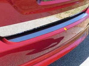 Chrome Trim - Bumper Accents - QAA - Ford Fusion 2010-2012, 4-door, Sedan (1 piece Stainless Steel Rear Bumper Trim Accent ) RB50390 QAA