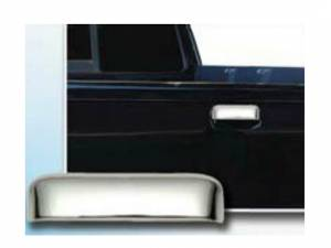 Chrome Trim - Tailgate Handle Cover - QAA - Ford Ranger 1998-2001, 2-door, Pickup Truck (1 piece Chrome Plated ABS plastic Tailgate Handle Cover Kit ) DH38324 QAA