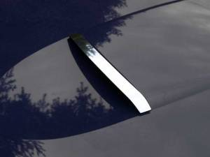Chrome Trim - Hood Accents/Trim - QAA - Ford Thunderbird 2002-2004, 2-door, Coupe, Convertible (1 piece Stainless Steel Hood Accent Trim Scoop ) HT43670 QAA